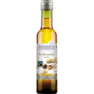 Erdnussöl nativ FairTrade