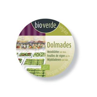 Weinblätter Dolmades gefüllt mit Reis