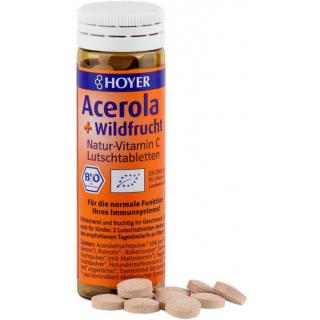 Acerola+Wildfrucht Lutschtabletten
