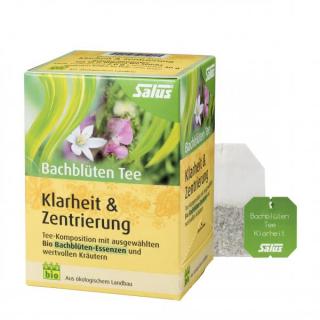 Bachblüten Tee Klarheit & Zentrierung