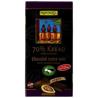 70% Kakao Edelbitter  schokolade (RAPADURA) HIH