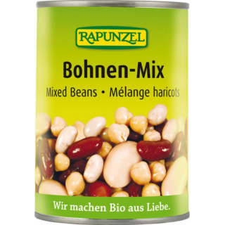 Bohnen Mix in der Dose