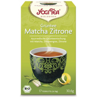 Yogi Tea Grüntee Matcha Zitrone