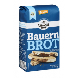 Brotbackmischung Bauernbrot DEMETER