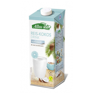 Reis-Kokos-Drink Naturell