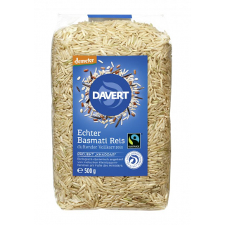 Basmati Vollkornreis DEMETER FAIRTRADE