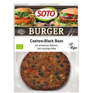 Cashew-Black Bean Burger