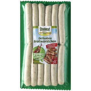 Delikatess-Bratwürstchen BIOLAND