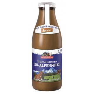 Alpenmilch fettarm DEMETER