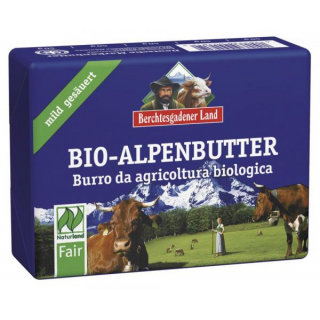 Alpenbutter mild gesäuert NATURLAND