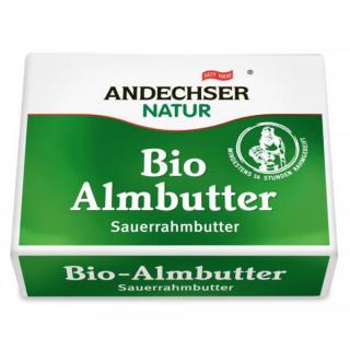 Almbutter Sauerrahmbutter BIOLAND