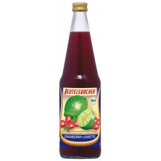 Fruchttrunk Cranberry Limette