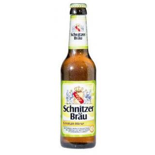 Hirse-Lemon Schnitzer Bräu Kiste
