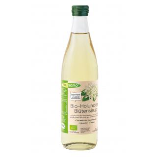 Bio-Holunderblüten-Sirup