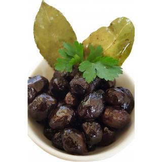 Marok. Oliven getrocknet schwarz natur