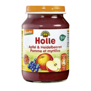 Apfel mit Heidelbeere DEMETER