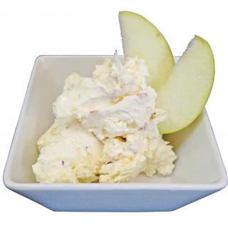 Apfel-Ingwer-Meerrettich Frischkäsezubereitung